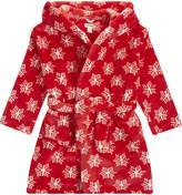 Hatley Snowflake print dressing gown s-xl