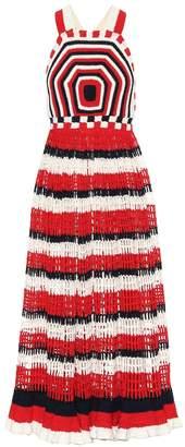 Ulla Johnson Paz cotton crochet maxi dress