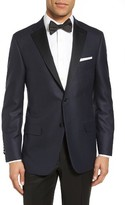Hickey Freeman Men's Classic Fit Wool & Silk Dinner Jacket