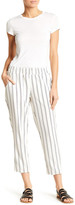 Honey Punch Striped Cropped Pant