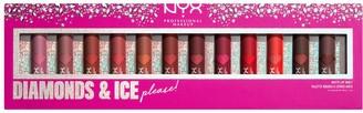NYX Diamonds & Ice Please! Matte Lipstick Vault