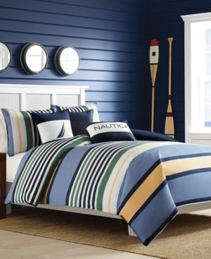 Nautica Closeout! Dover King Comforter Mini Set Bedding