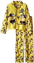 "Despicable Me Boys Minions ""Pirates"" Coat Pajamas Set"