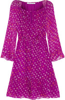 Diane von Furstenberg Simonia printed silk-chiffon dress