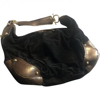 Gucci Hobo Black Suede Handbags