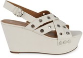 Marc Fisher Bloom Grommet Platform Sandals