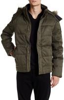 Zadig & Voltaire Kab Detachable Faux Fur Trim Down Jacket