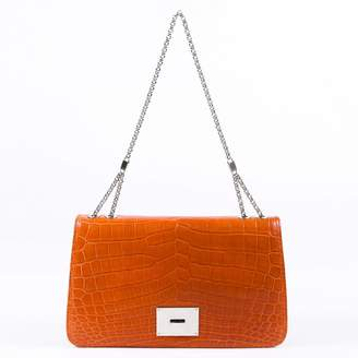 Tiffany & Co. Orange Leather Handbags