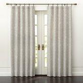 Crate & Barrel Dover Cream/Taupe Curtain Panels