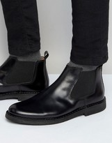 Selected Royce Leather Chelsea Boots