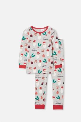 Cotton On Kids Christmas Long Sleeve Pyjama Set