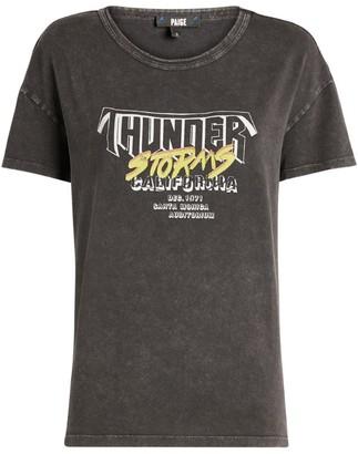 Paige Lila Graphic T-Shirt