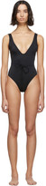 Solid And Striped Solid and Striped Black The Michelle One-Piece Swimsuit