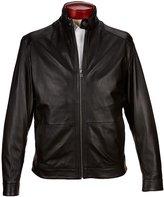 Roundtree & Yorke Lightweight Lambskin Leather Jacket