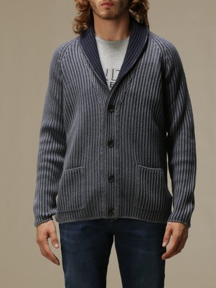 Dondup Cardigan In Ribbed Knit