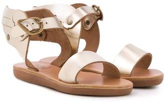 Ancient Greek Sandals Little Ikaria wing-applique sandals