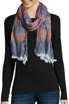 Asstd National Brand Striped Scarf