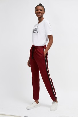 French Connection Yvonne Jersey Side Stripe Joggers