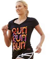 "Fila sport ® ""run"" performance tee"