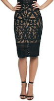Bardot Baroque Lace Skirt
