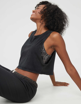 aerie OFFLINE Cropped Tank Top