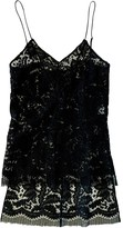 ADAM by Adam Lippes Black Lace Top for Women