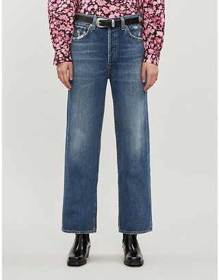 Citizens of Humanity Joanna straight-leg high-rise jeans