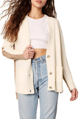 BB Dakota Extra Credit Cardigan Ivory S