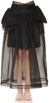 Simone Rocha Bow Detail Tulle Skirt