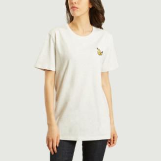 Bricktown World - Cream Heather Grey Cotton Banana T Shirt - cotton | Cream Heather Grey | s