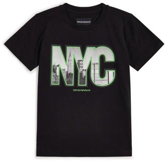Emporio Armani Kids NYC Graphic T-Shirt