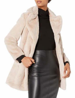 Rachel Roy Women's Faux Fur Coat