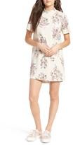 Leith Women's Floral Print Shift Dress