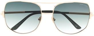 Tom Ford Oversized Aviator Sunglasses