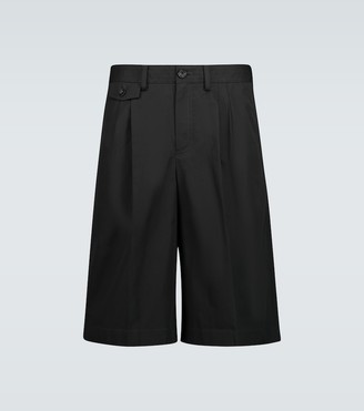 Burberry Icon stripe detailed cotton shorts