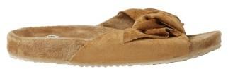Dearfoams Women's Knot Molded Footbed Slide Slippers