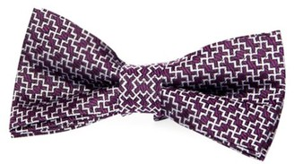 Appaman Geometric Silk Bow Tie