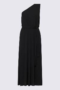Marella Quassia One Shoulder Dress - Medium - Black