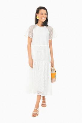 Diane von Furstenberg Ivory Marlowe Dress