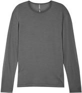 Arcteryx Veilance ARC'TERYX VEILANCE Frame Grey Merino Wool Jersey Top