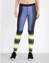 Monreal London Flux-print reversible leggings