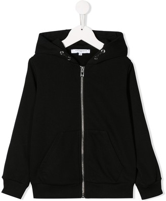 Givenchy Kids signature zip hoodie