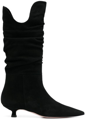 Liu Jo Knee-High Suede Boots