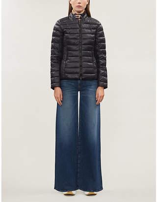Armani Exchange Zipped shell down jacket