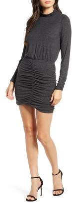 Ali & Jay Sunset & Vine Ruched Long Sleeve Body-Con Dress