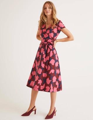 Boden Olive Wrap Dress