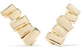 Suzanne Kalan 18-karat Gold Earrings - one size