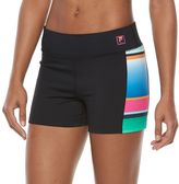 Women's FILA SPORT® Colorblock Compression Running Shorts