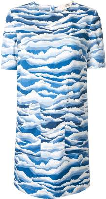 Ports 1961 printed T-shirt dress