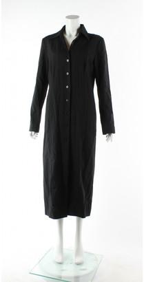 Mulberry Black Wool Coats